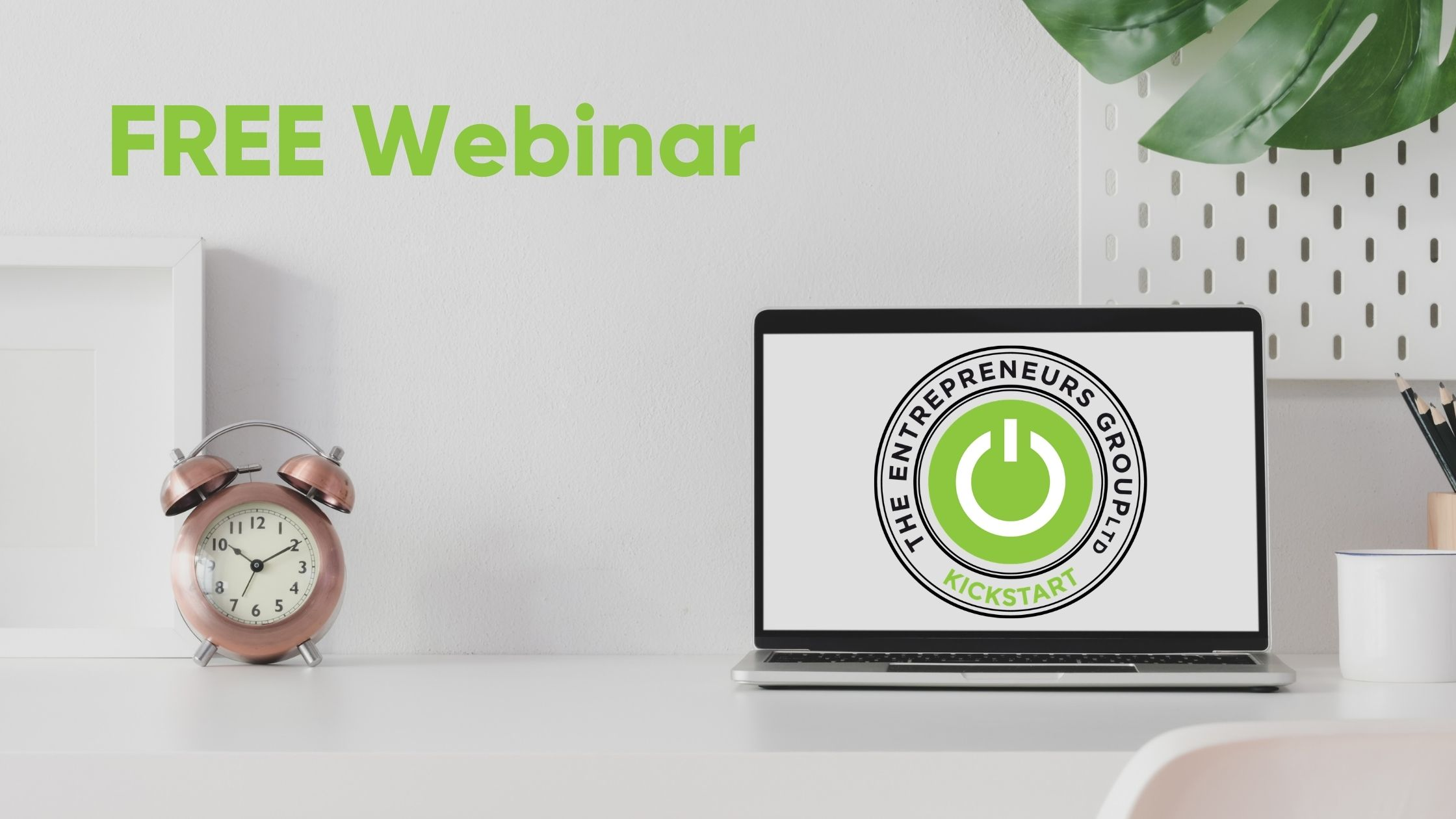 FREE webinar offering support to business start ups