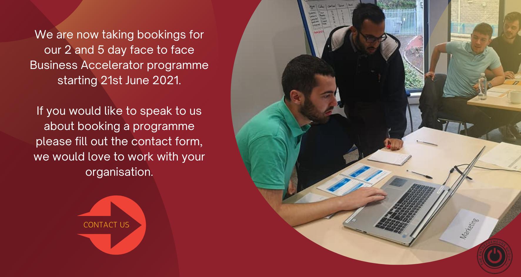 TEG Business Accelerator Programme